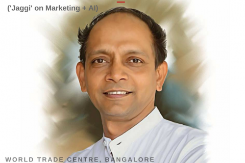 Jaggi VMware on AI in Marketing I automationshift_ Sept 15, 2017 World Trade Center, Bangalore I A TWBShift Conference